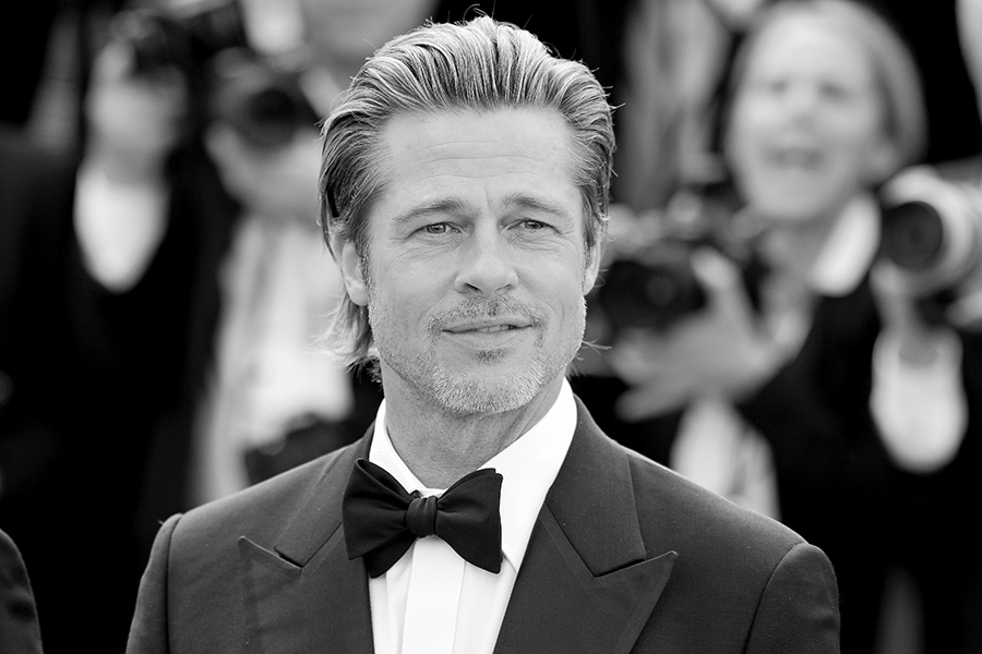 "Brad Pitt at the Premiere of the film ""Once Upon A Time In Hollywood"" during the 72nd Cannes Film Festival"