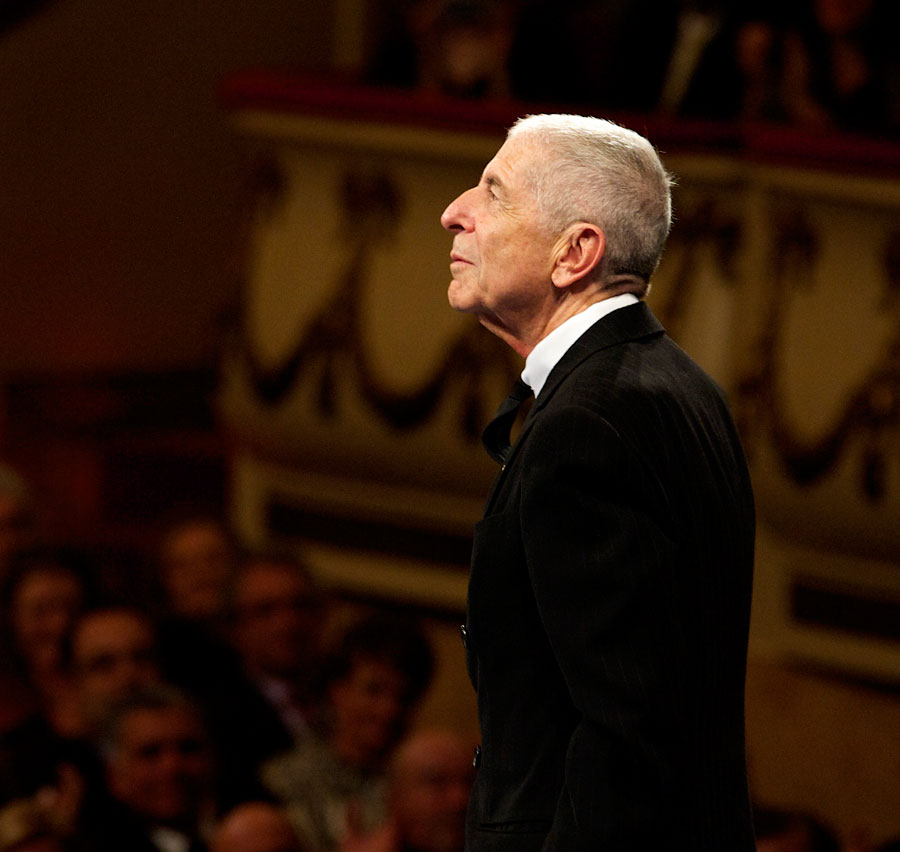 """Canadian singer Leonard Cohen attends the """"Prince of Asturias Awards 2011"""" ceremony at the Campoamor Theater on October 21, 2011 in Oviedo, Spain. (Photo by Carlos R. Alvarez/WireImage)"""