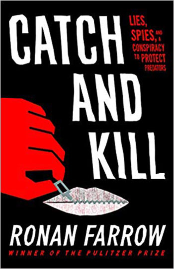 Book cover for Catch and Kill by Ronan Farrow