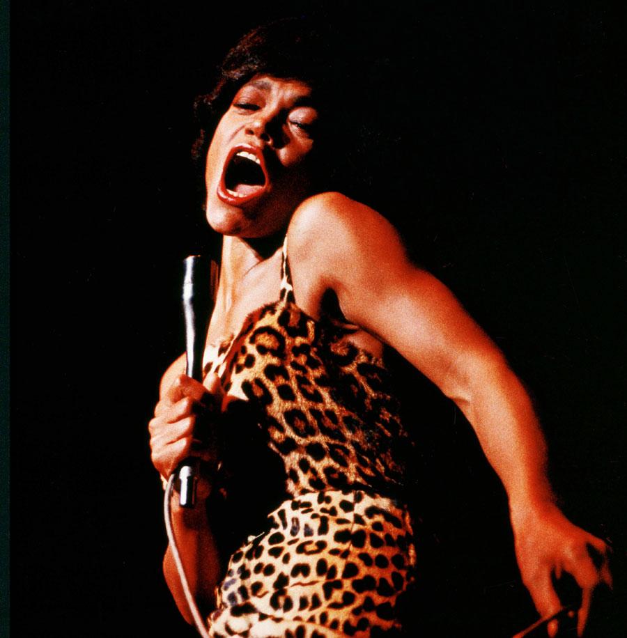 American singer Eartha Kitt in 1960. Photo by Reg Wilson/Shutterstock