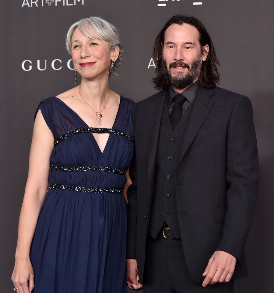 Flattering to be mistaken for Keanu Reeves' girlfriend, says Helen Mirren