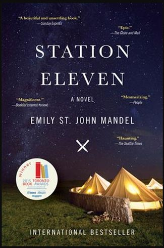 Book cover for Station Eleven