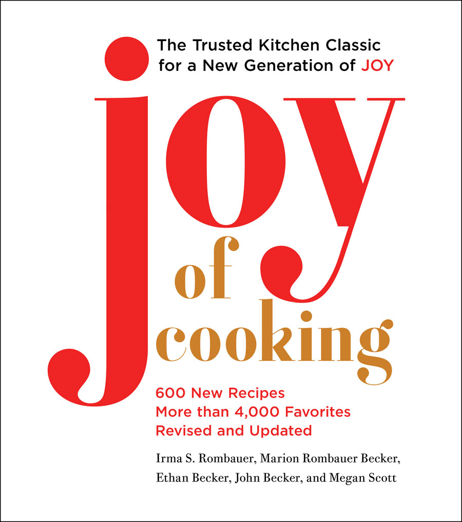 "Book cover for updated ""Joy of Cooking"""