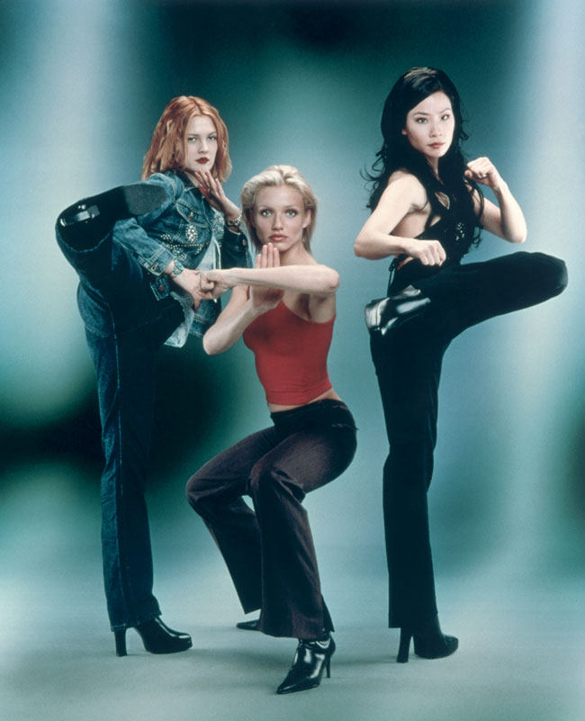 "Drew Barrymore, Lucy Liu and Cameron Diaz star in the 2000 movie ""Charlie's Angels."""