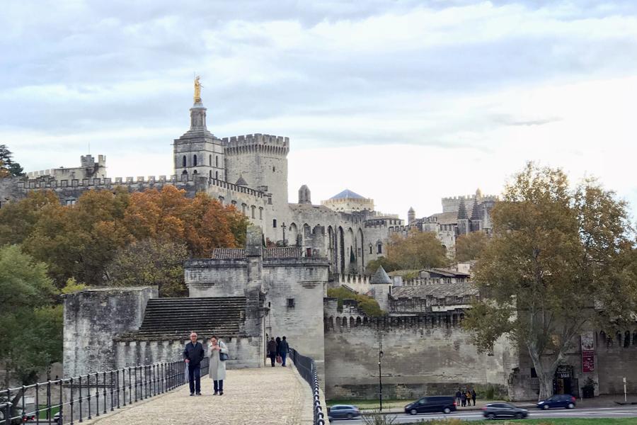 Pont d'Avignon, Avignon, Provence, France