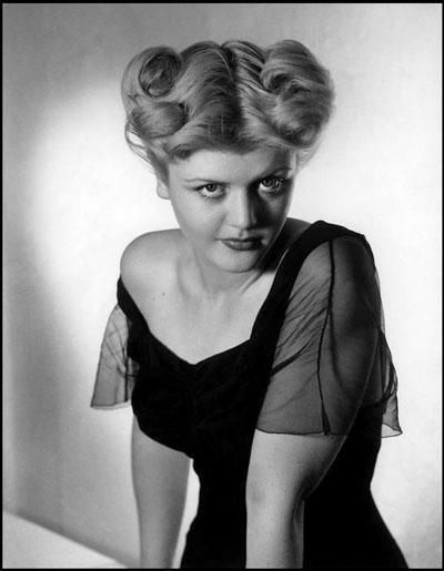 Angela Lansbury in a Hollywood publicity still, 1944.