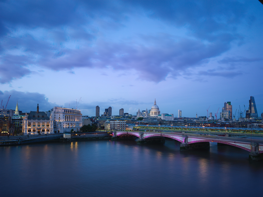 St. Paul's Cathedral and Blackfriars Bridge