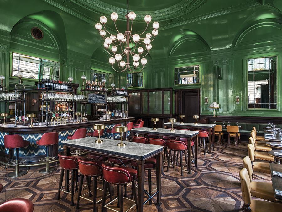 The Wigmore pub in London, England
