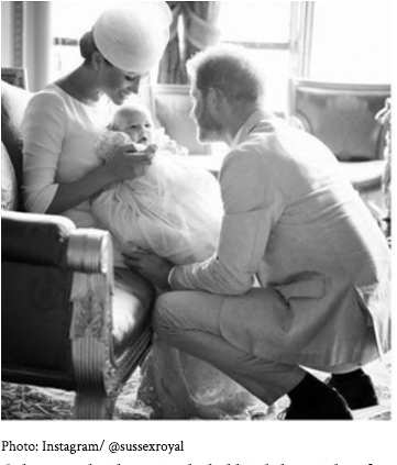 Meghan Markle, Prince Harry, Baby Archie, Duke and Duchess of Sussex