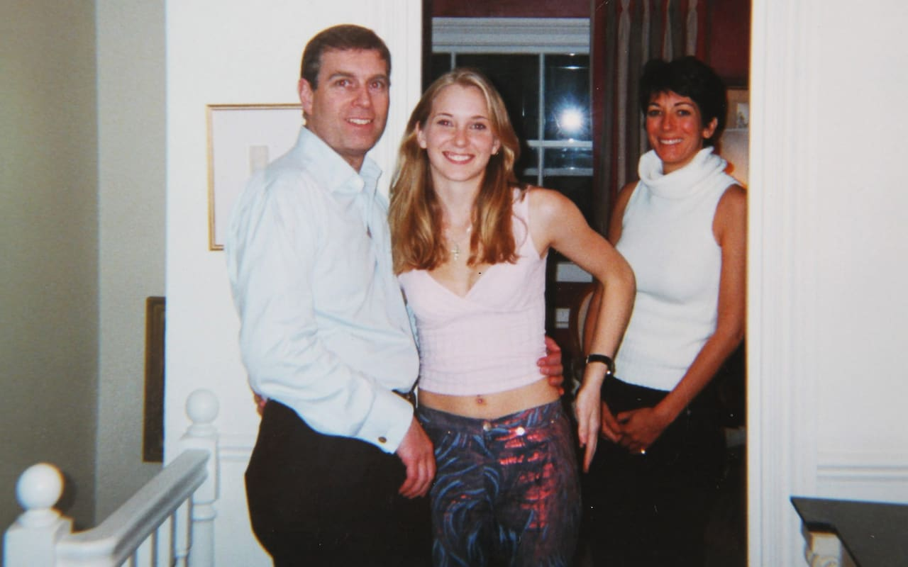 Virginia Roberts Giuffre and Prince Andrew.