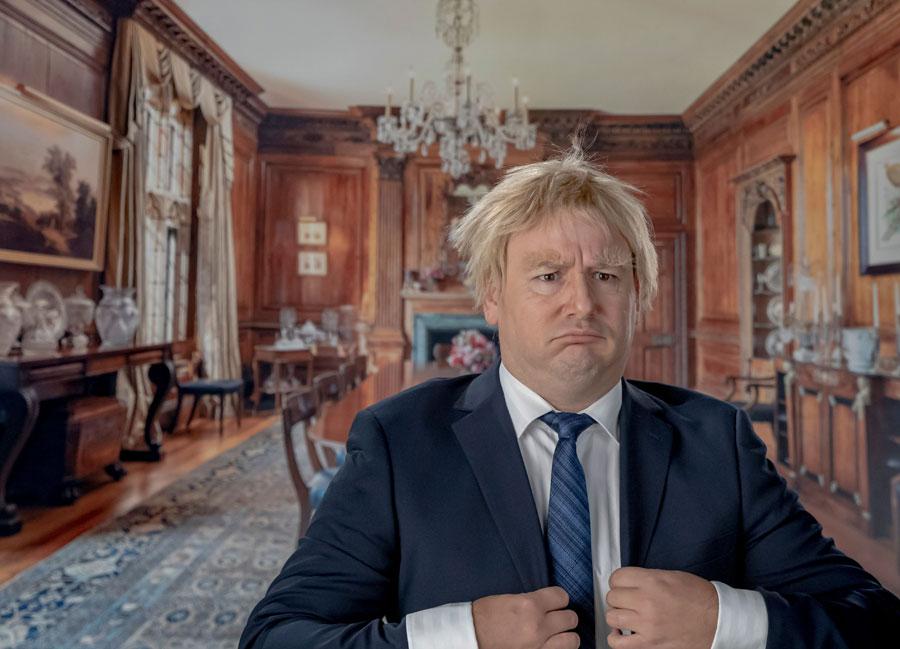 Craig Lauzon as British Prime MInister Boris Johnson