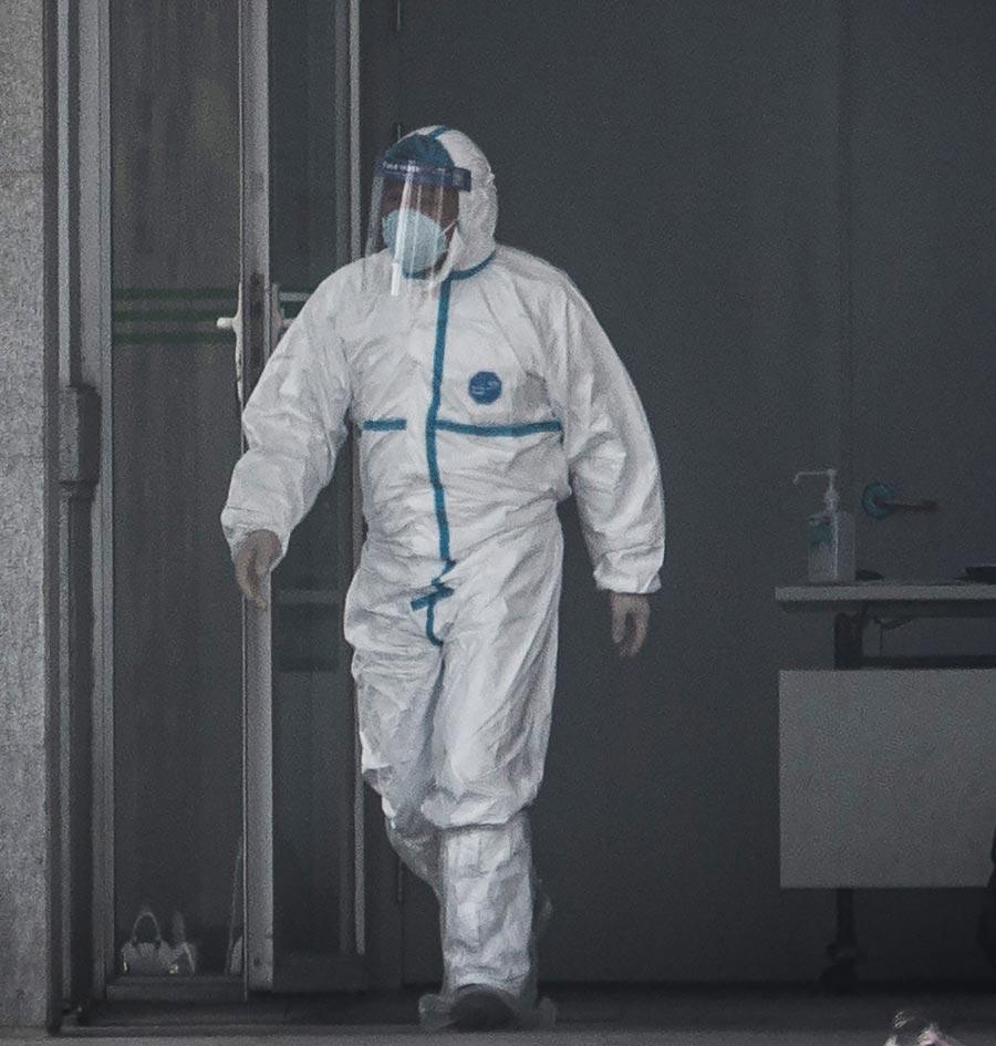 China, virus, hospital worker