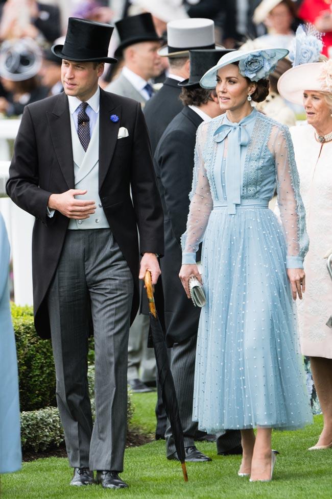 Ascot, Kate Middleton, Catherine, Duchess of Cambridge, William, Duke of Cambridge