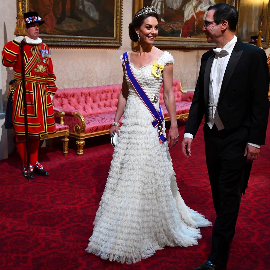 Catherine, Duchess of Cambridge, the Grand Dame Cross of the Royal Victorian Order, President Trump State Visit in UK