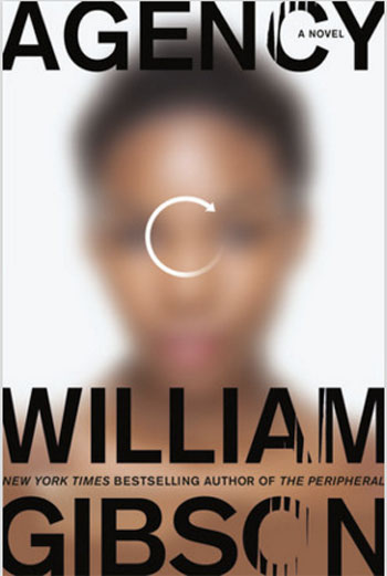 Bookcover for Agency by William Gibson