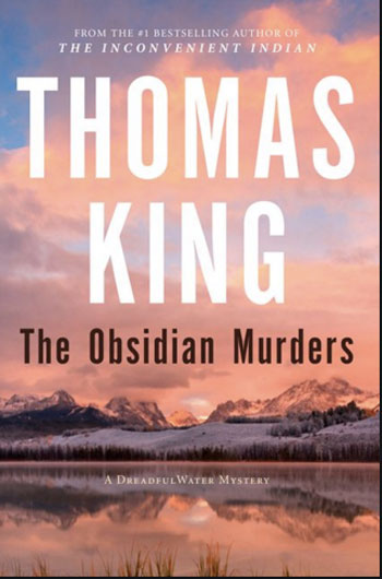 The Obsidian Murders book cover by Thomas King