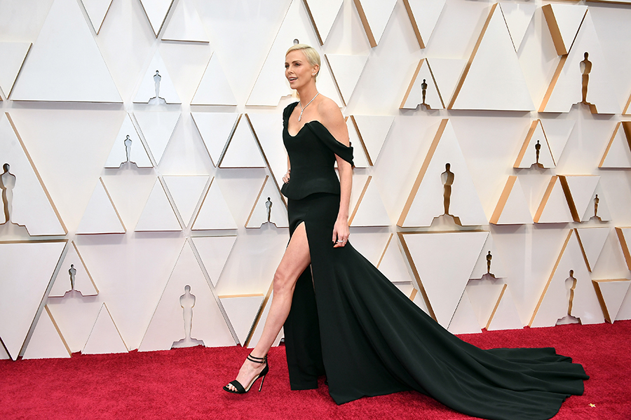 Oscars red carpet