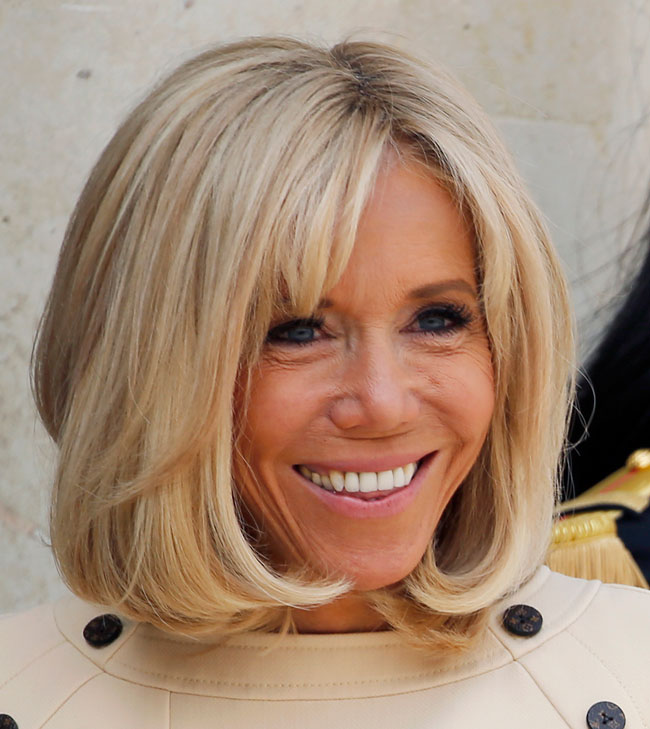 Age Appropriate Brigitte Macron Breaks Fashion Rules At 66 Everything Zoomer