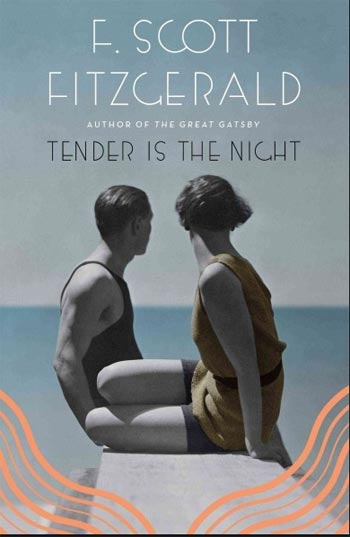 Book cover for Tender Is the Night by F.Scott Fitzgerald