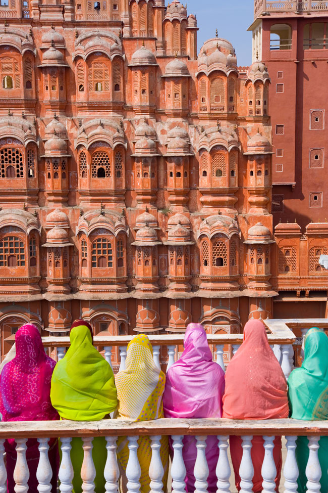 The Hawa Mahal (Palace of the Winds) was built in 1799 in Jaipur, Rajasthan, India. Photo: Gavin Hellier/robertharding/Getty Images