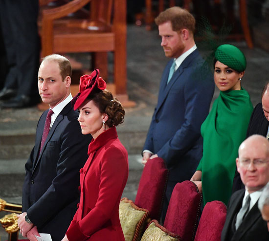 harry meghan william and kate