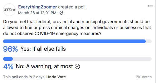 covid poll