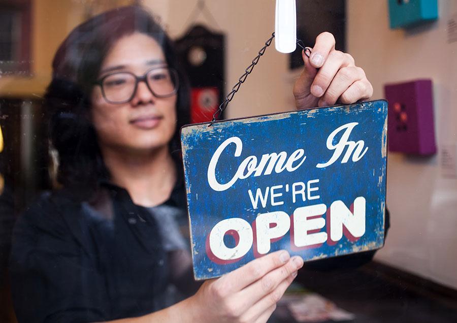 re-opening economy