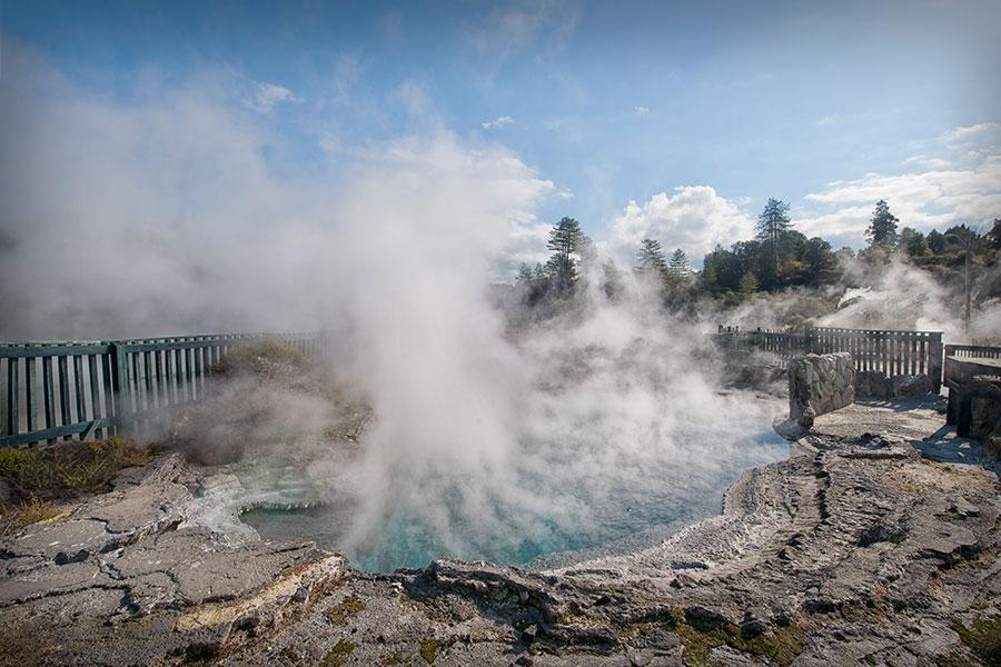 Whaka's mineral pools