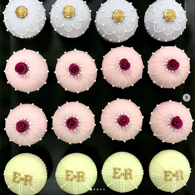 Cupcakes, Queen Elizabeth, Instagram post