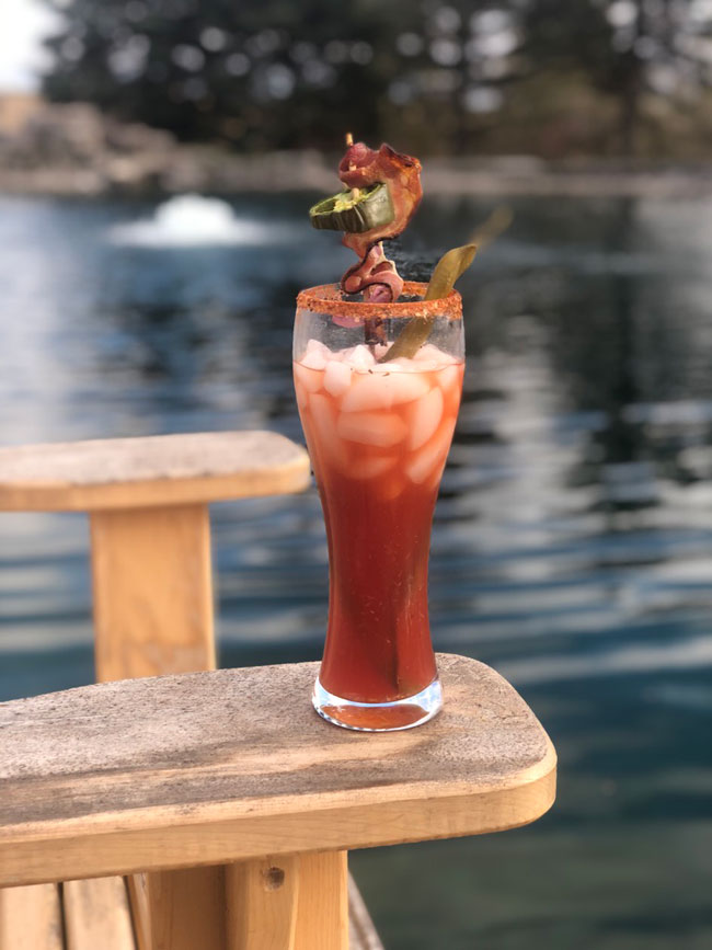 Bloody Ceasar Cocktail