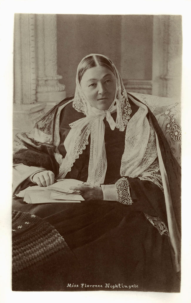 Florence Nightingale, Queen Victoria