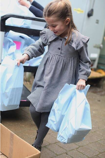 Photo of Princess Charlotte for her fifth birthday