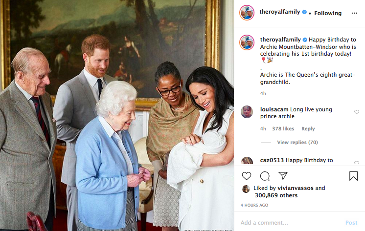 The Queen, Baby Archie