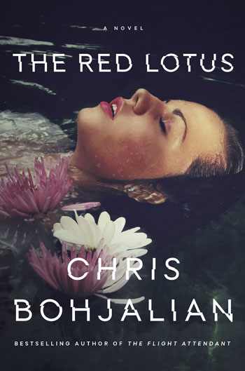 Book cover for the Red Lotus by Chris Bohjalian