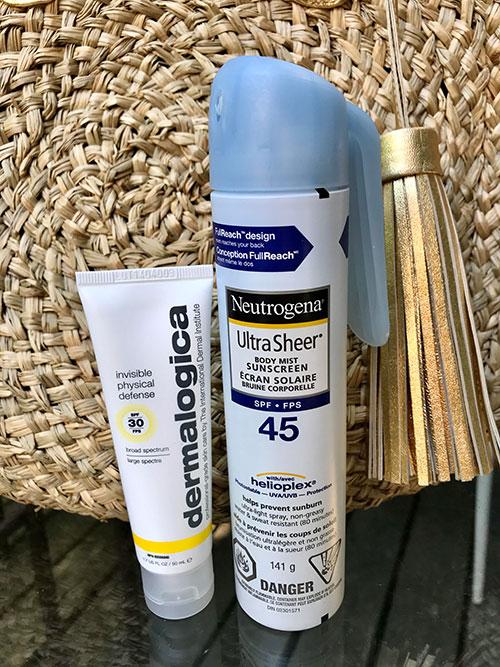 Sheer Sunscreen