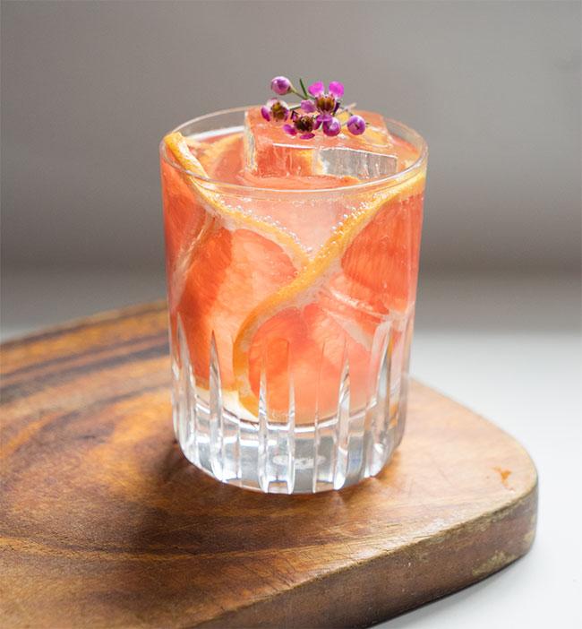 Volcán Grapefruit Collins