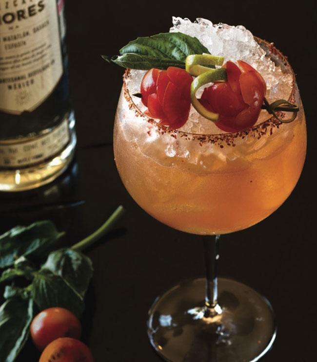 The Rancho San Lucas Signature Mezcalita cocktail