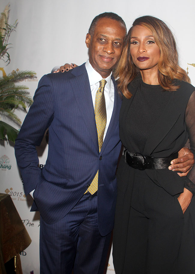 Brian Maillian and Beverly Johnson