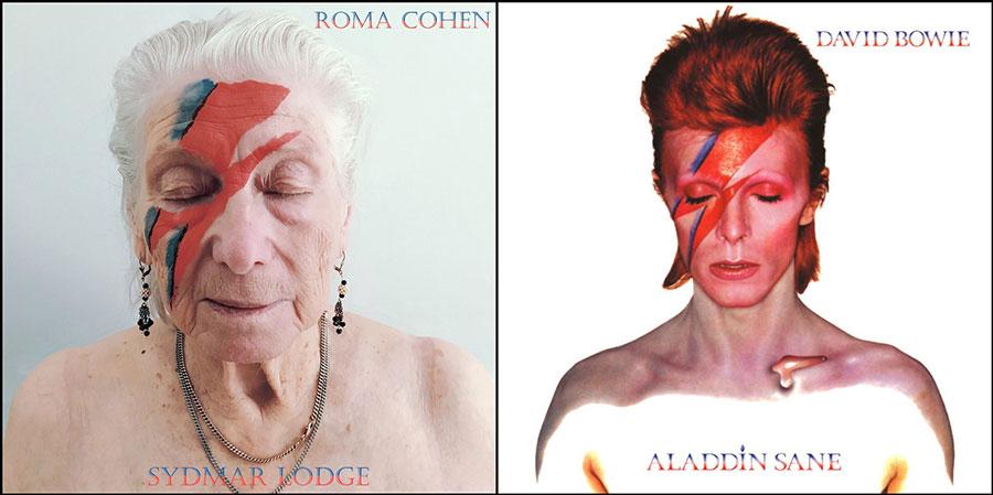 David Bowie Album recreation