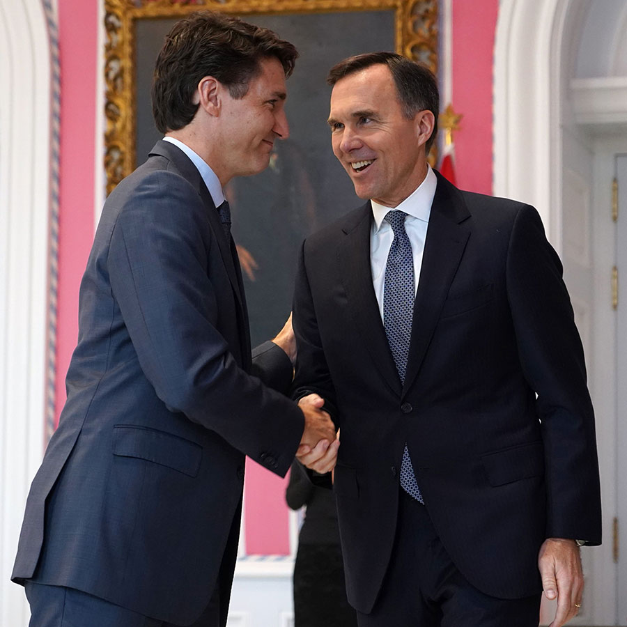 Trudeau Morneau