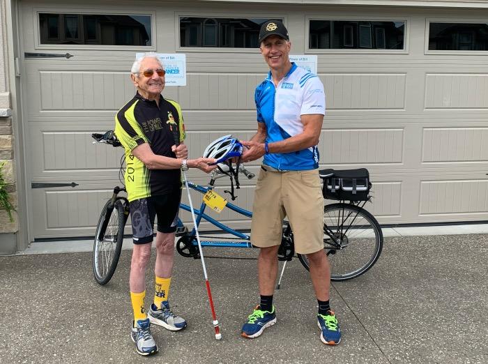 92-year-old cyclist