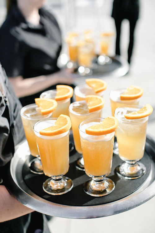 Fuddled Orange cocktail