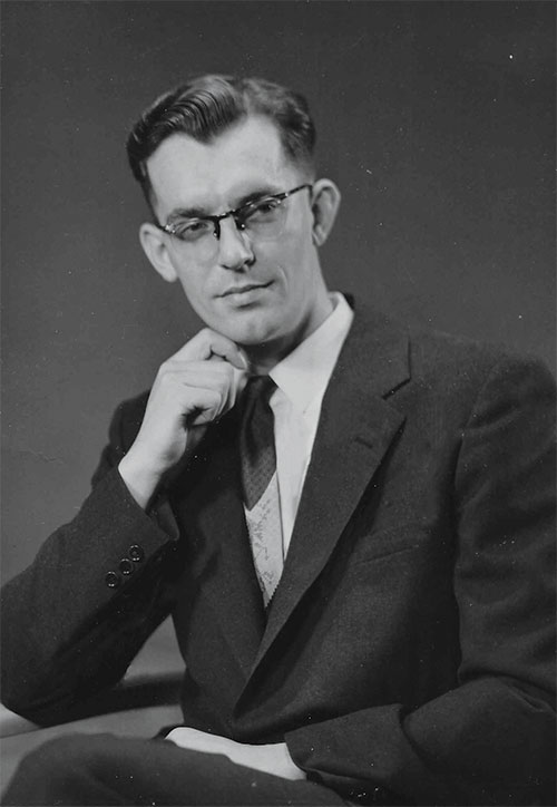 Ferguson's father