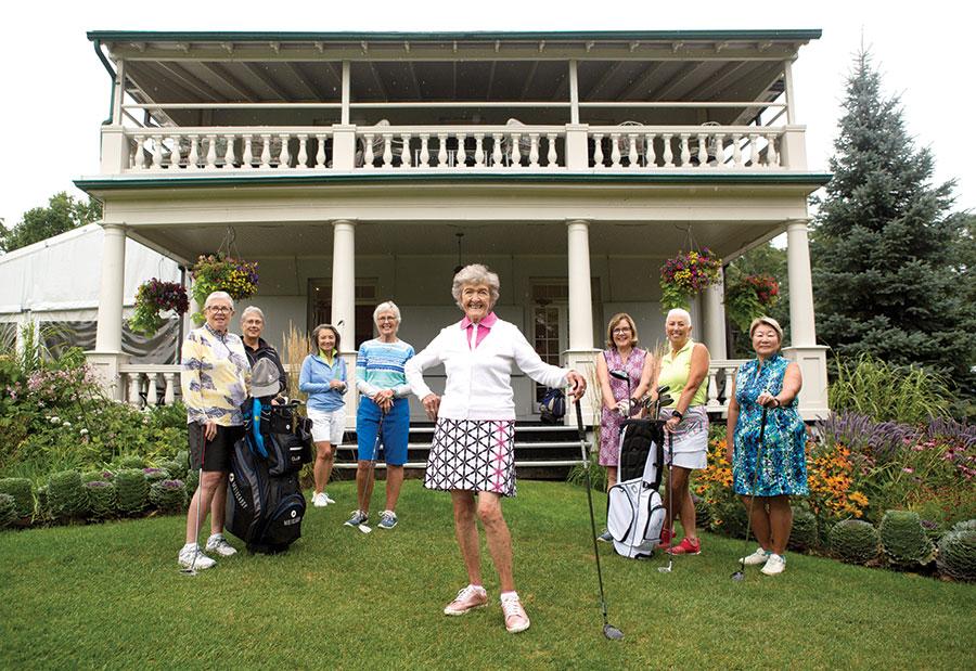 female golf club