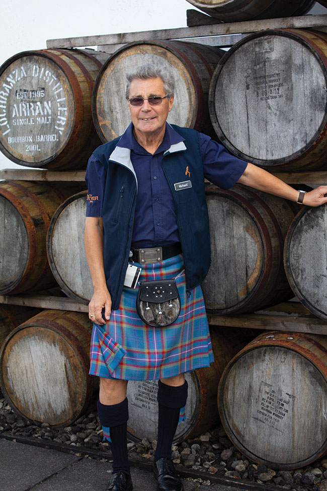 Richard Wright Arran Distillery