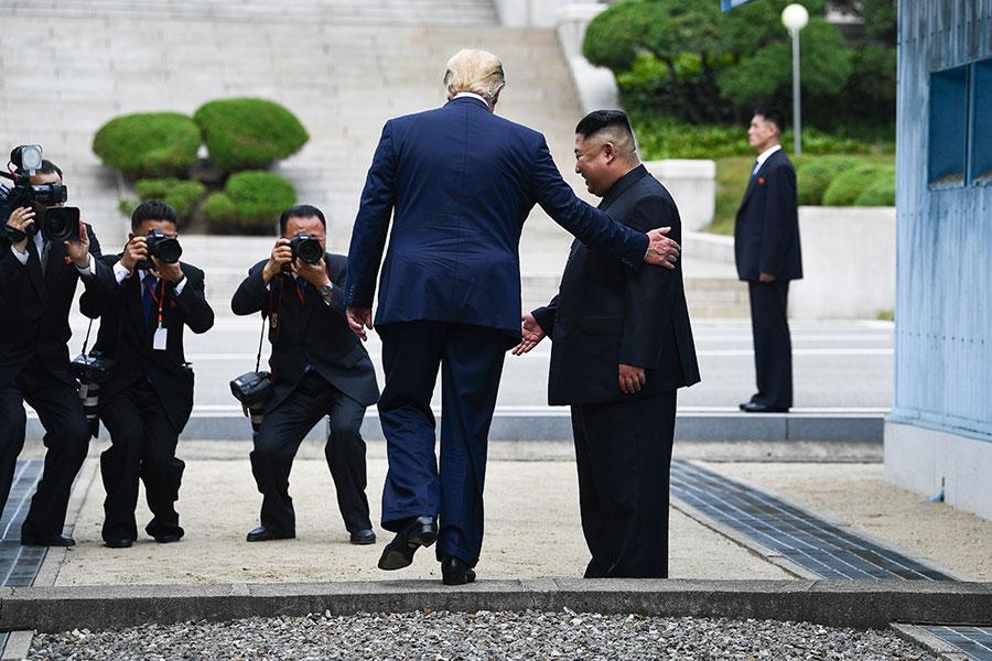 Trump in Korea