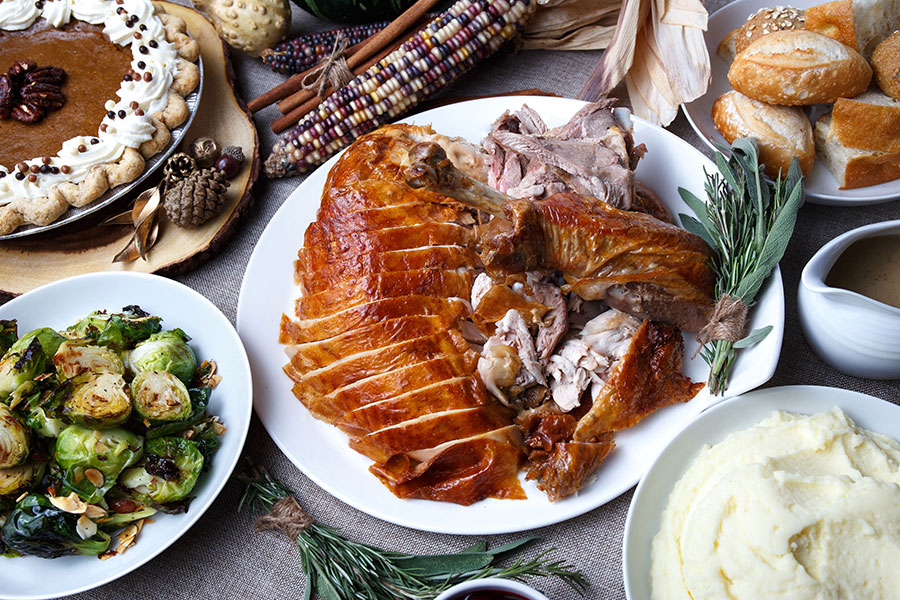 Railtown turkey dinner