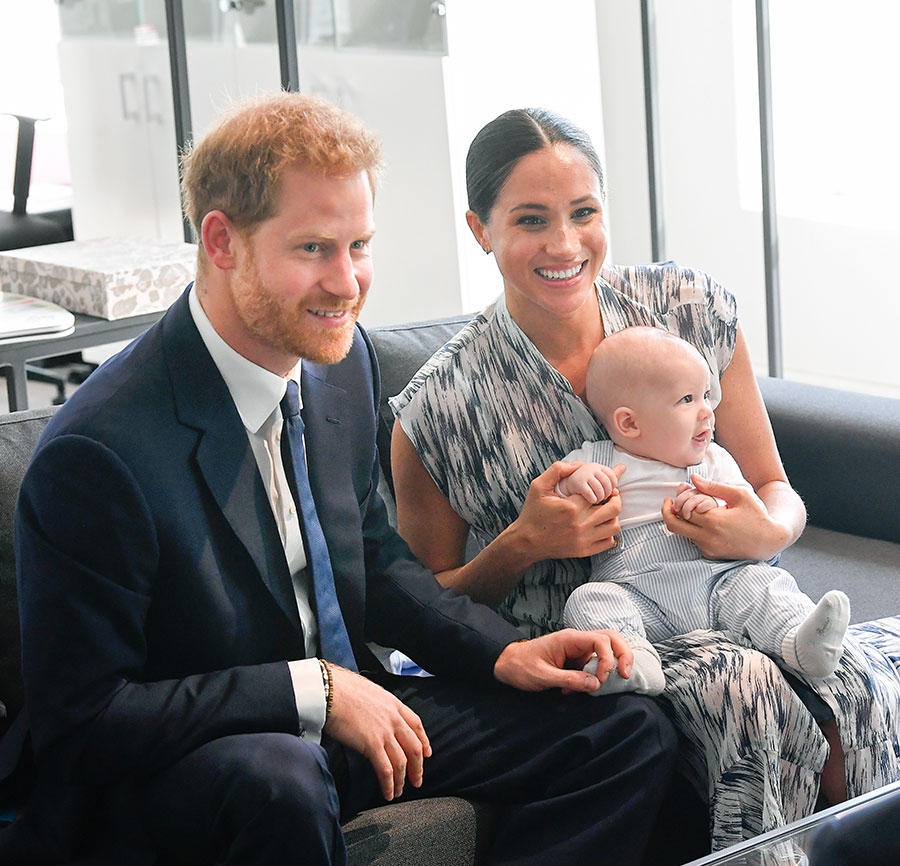 Meghan, Harry and Archie