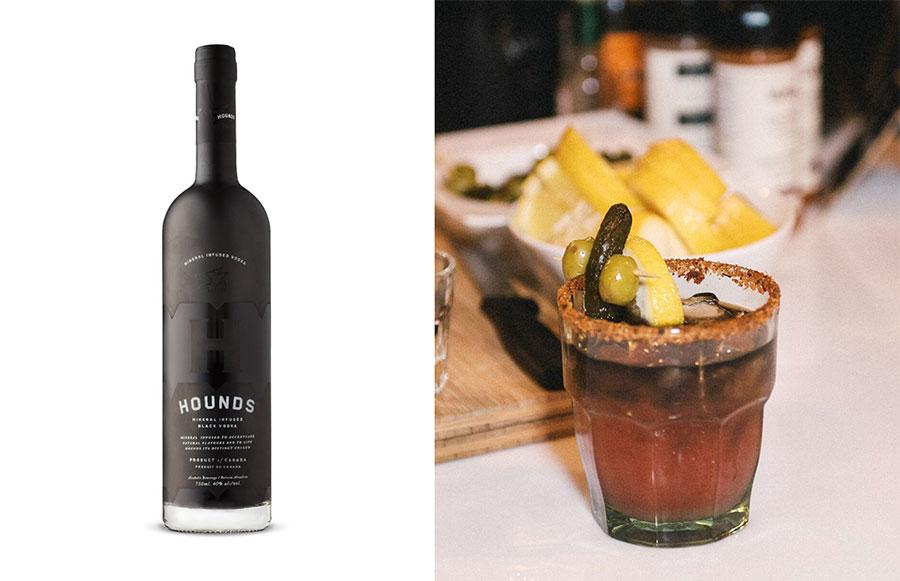 Hounds Vodka Caesar