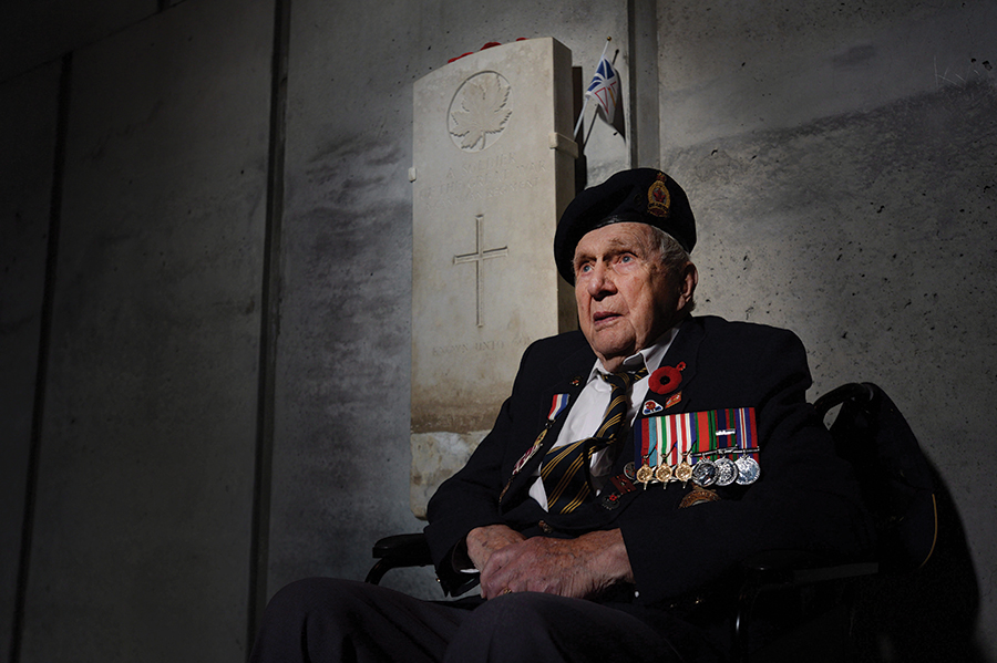 Veteran Fred Arsenault